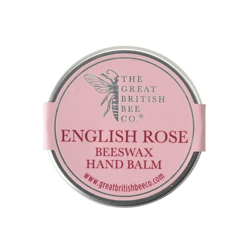 The Great British Bee Co. English Rose Beeswax Hand Balm 50gm