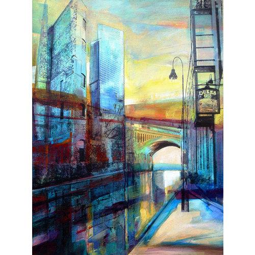 Kate Boyce Art Castlefield y The Hilton imprimen 26