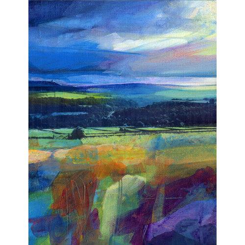 Kate Boyce Art Stormy Sky over Stoodley  print 24