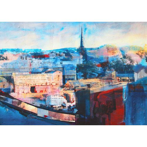 Kate Boyce Art La vida en el paisaje, Todmorden imprimir 23