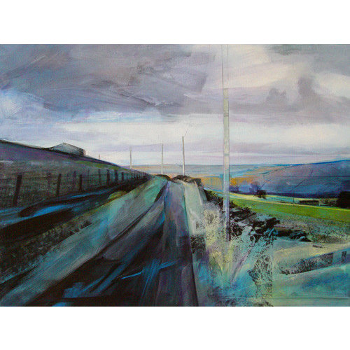 Kate Boyce Art Brooding Sky print 21