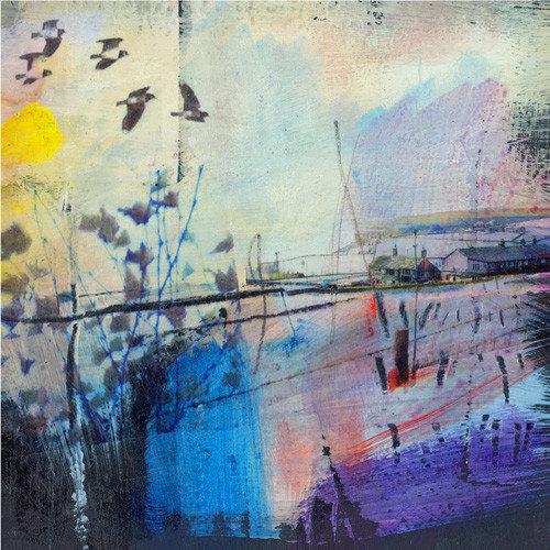 Kate Boyce Art Lapwings in Flight print 20