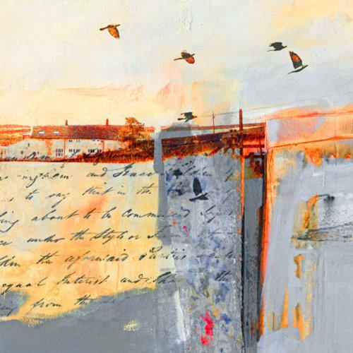 Kate Boyce Art Take Flight to Crow Hill card  15