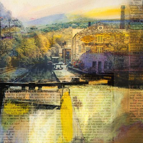 Kate Boyce Art Blackpit Lock, Hebden Bridge card  13