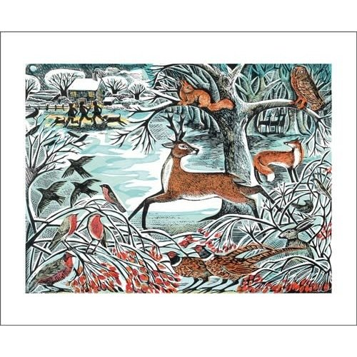 Art Angels Winter Woodland by Angela Harding