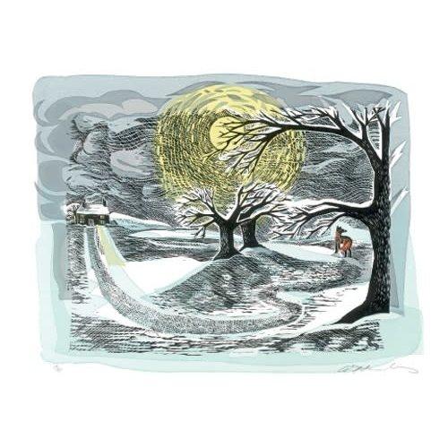 Art Angels Zorro de invierno de Angela Harding