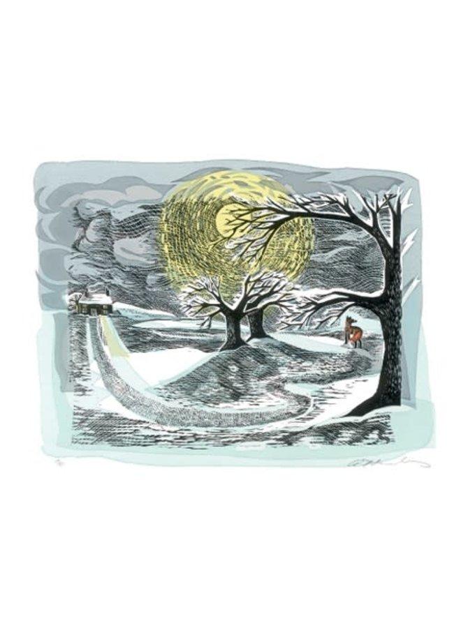Winterfuchs von Angela Harding