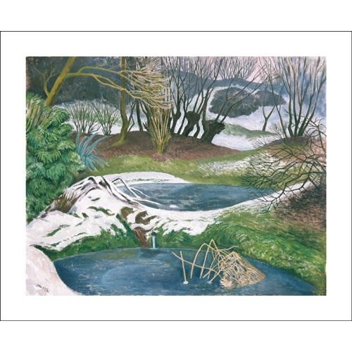 Art Angels Frozen Ponds by John Nash