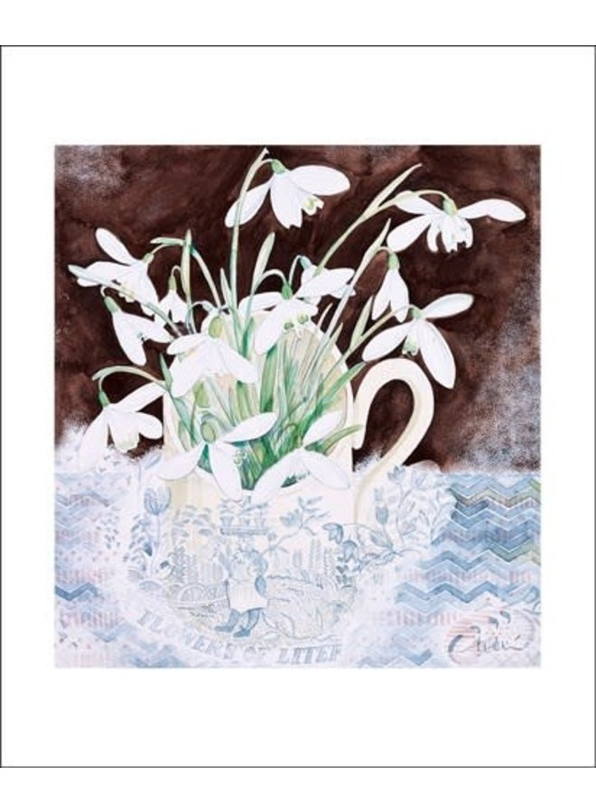Snowdrop Cup by Angie Lewin
