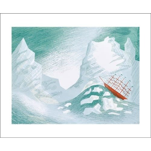 Art Angels Icebergs by Ed Kluz