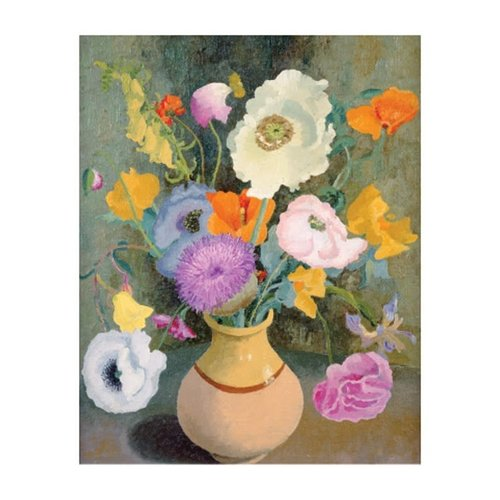 Art Angels Poppies and Sweet Peas by Cedric Morris