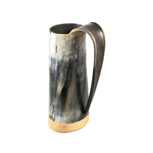 Abbey Horn Polished  Horn Drinking  Mug  Tappered Handle 47