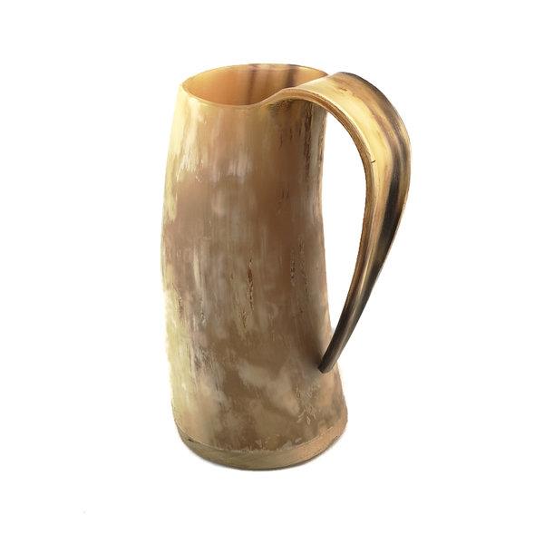 Vaso para beber rústico Cuerno Mango roscado 44