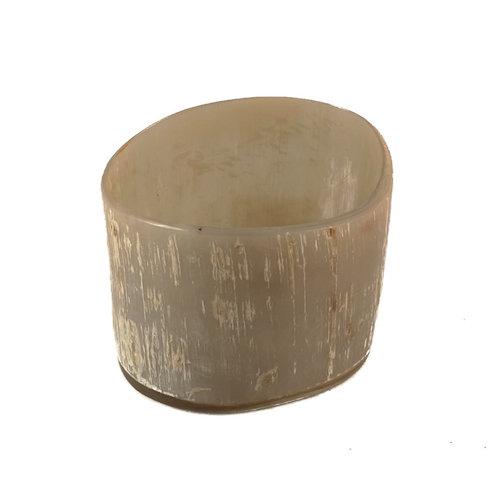 Abbey Horn Votive Oxhorn Tealight Holder 35