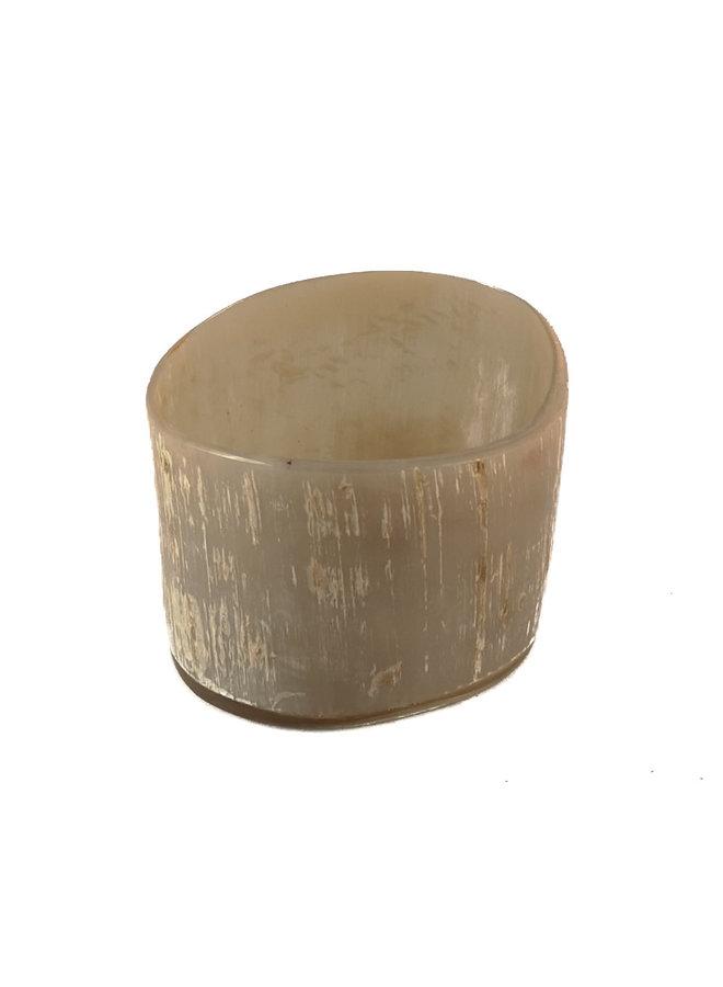 Votiv Oxhorn Teelichthalter 35