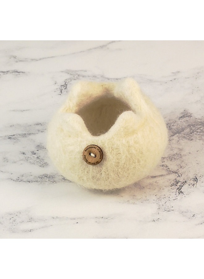 Rare Breed Felt Bowl Whitefaced Woodland Sheep 12