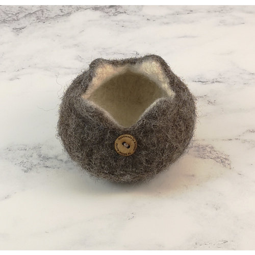 Rachel Morley Rare Breed Felt Bowl  Marsham Sheep 06