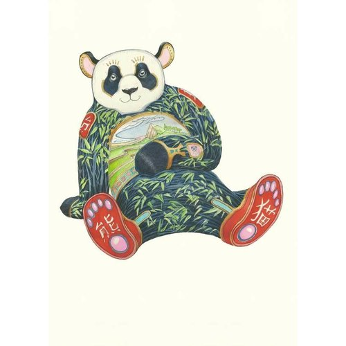 Daniel Mackie Panda Card