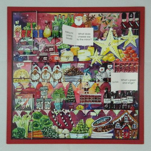 Swiss Kiss Foodie Fun  Advent Calendar by Julia Rigby