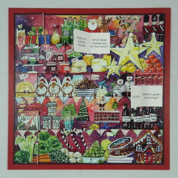 Foodie Fun  Advent Calendar by Julia Rigby