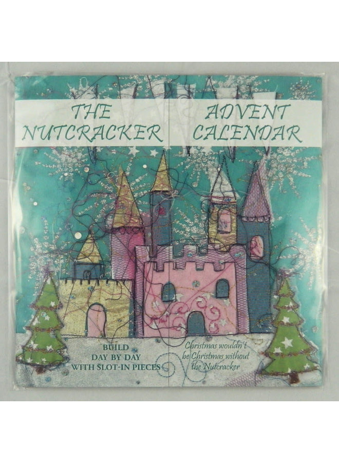 The Nutcraker Slot-In  Advent Calendar Reusable by Heidi Rhodes