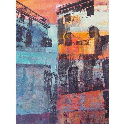Kate Boyce Art Venezianische Wohnhäuser drucken 28