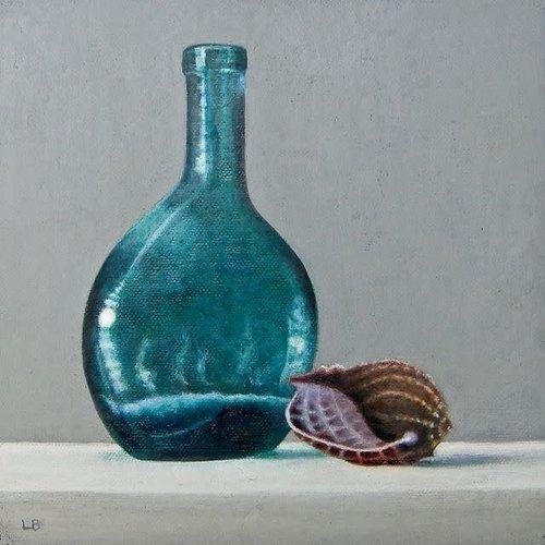 Linda Brill Flasche und Schale 034