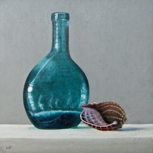 Bottle and Shell 034