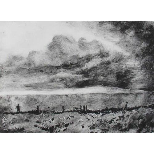 Pete Marsh Rain in the City No.1 Monoprint 12