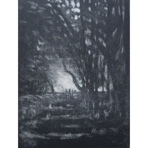 Pete Marsh If You go down to the Woods today .. 1 or 10 etching 10