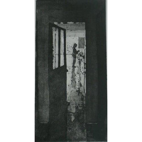 Pete Marsh A través de la puerta abierta AP ed. 10 grabado 09