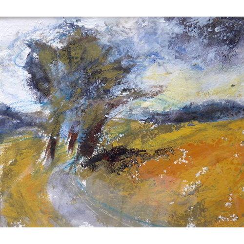 Liz Salter Those Hardy Trees -   mixed media 044