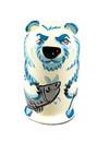 5 Nestende ijsbeer met vis en zeehond mini 118