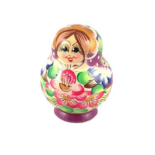 Russian Gifts 10 Nestelende Martyoshka-pop Paars Klein 111
