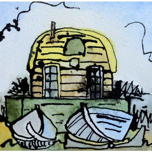 Barry Cook Hütte und Boote 018