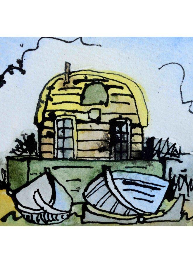 Hütte und Boote 018