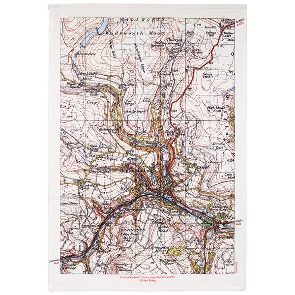 Puente de Hebden Mapa T. Toalla 03