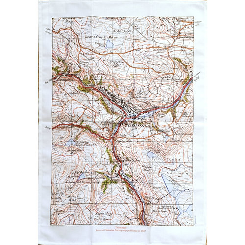 Jane Revitt Todmorden Map  1947 T. Towel 01
