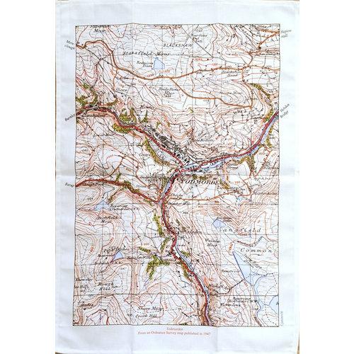 Jane Revitt Todmorden Mapa 1947 T. Toalla 01