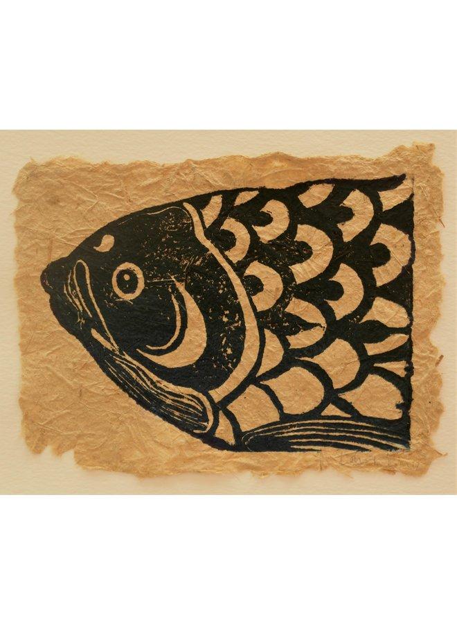 Koinobori Linoprint - 06