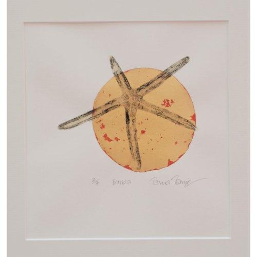 Rachel Ramirez Estrela 1 screen & gyotaku print- 02