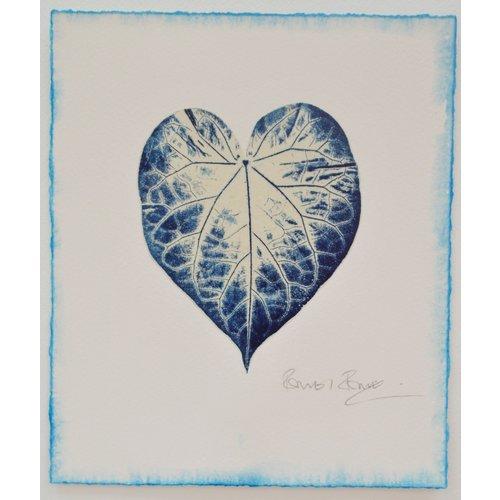 Rachel Ramirez Blaupausen für Glück No.2 Gyotaku Druck 01
