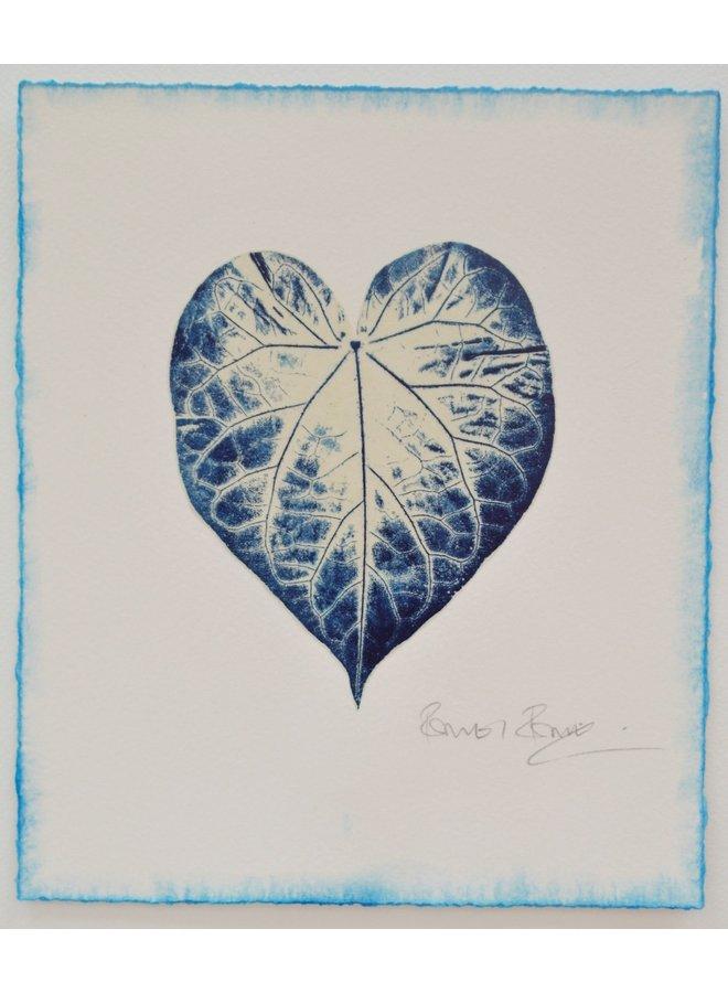Blaupausen für Glück No.2 Gyotaku Druck 01