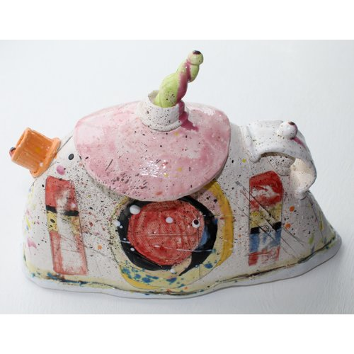 John Cook Ceramics Pink Top  019