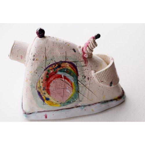 John Cook Ceramics Dreieckstopf 017