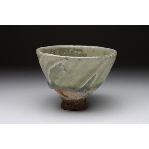Deiniol Williams Small Cup  wood fired stoneware ash glaze 013