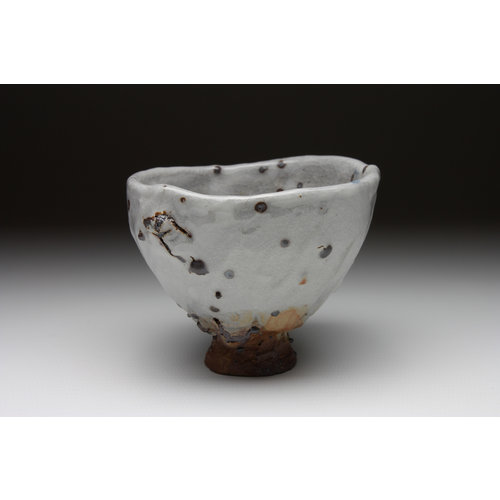 Deiniol Williams Small Cup  wood fired stoneware ash glaze 020