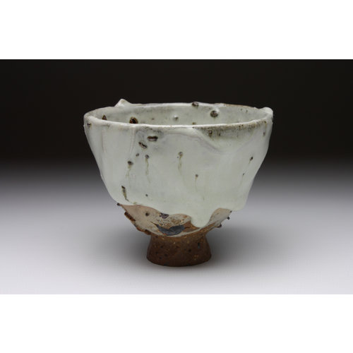 Deiniol Williams Small Cup  wood fired stoneware ash glaze 018