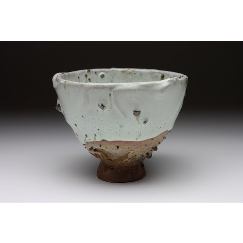 Deiniol Williams Small Cup  wood fired stoneware ash glaze 016