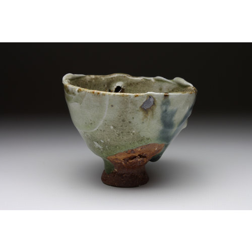 Deiniol Williams Small Cup  wood fired stoneware ash glaze 011